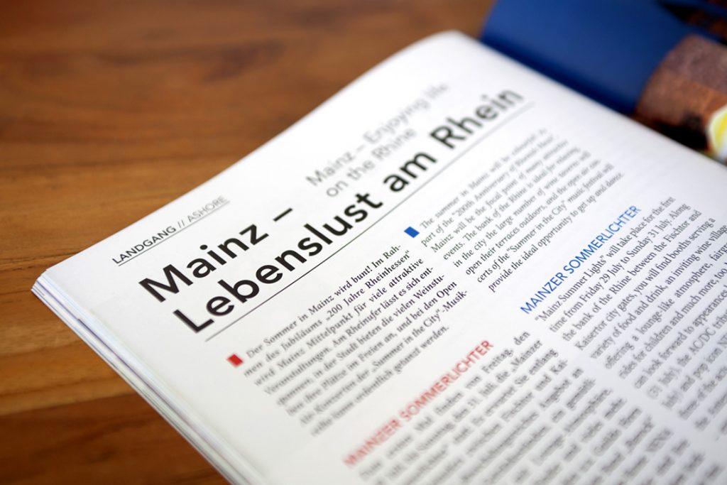 EDITORIAL DESIGN - RHEIN ZEIT - KÖLN - DÜSSELDORF